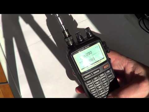 Icom IC R20 review part 3
