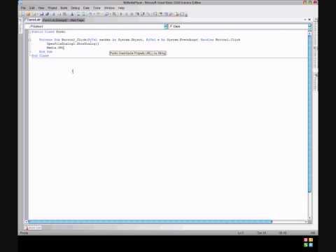 Windows Media Player Application