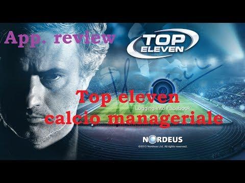 [RECENSIONE] Top eleven - calcio manageriale gratis per tutti. o quasi..
