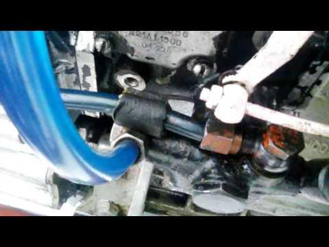Замена масло в ТНВД Трактора Т25 ( НД-21)