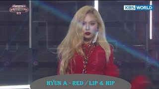 Download Lagu Hyun A - Red / Lip & Hip  [2017 KBS Song Festival | 2017 KBS 가요대축제 / 2017.12.29] Gratis STAFABAND