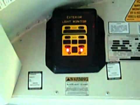 School Bus Exterior Light Monitor