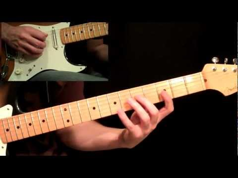 Cliffs Of Dover Guitar Lesson Pt.2 - Eric Johnson - Verse & Chorus