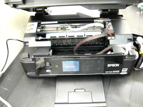 Ciss continuous ink system for the Epson SX445w Printers ...