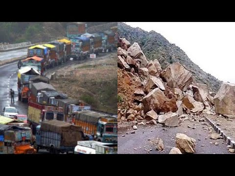 Jammu-Srinagar national highway blocked after landslide