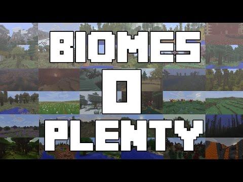 75 nieuwe BIOMES! BIOMES O PLENTY!! Minecraft Mod Review!