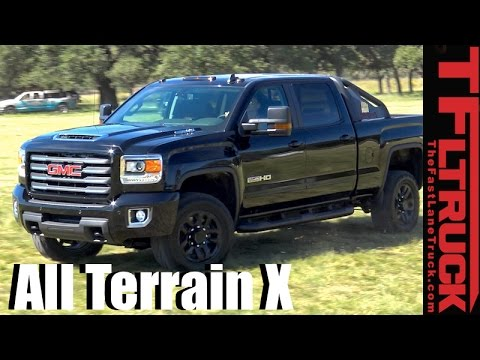 2017 GMC Sierra HD 2500 All-Terrain X: Everything You Ever Wanted to Know