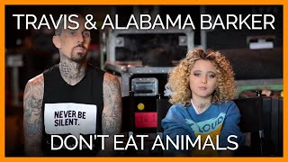 Father and Daughter Love Animals Too Much to Eat Them