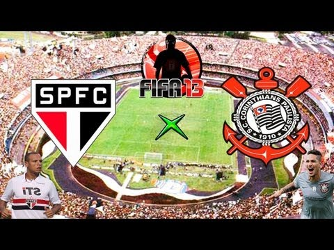 Fifa 13 - So Paulo x Corinthians - Melhores Momentos - 05-05-13