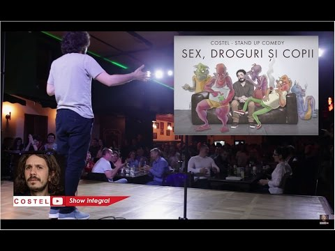 Sex, droguri si copii (show integral) - Costel Stand-up Comedy thumbnail