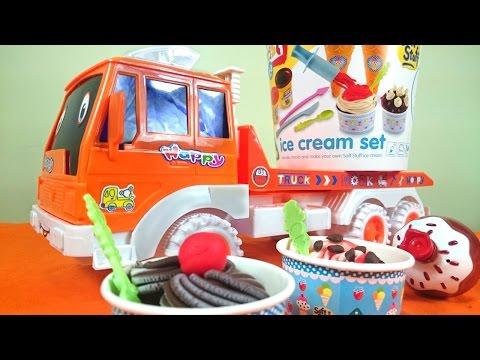 Пластилин Видео для Детей - Видео для детей. Готовим Вместе. Мороженое из Пластилина. Капуки Кануки