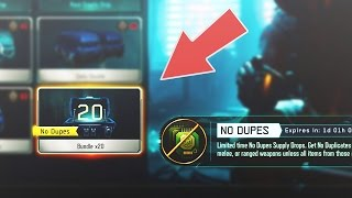 "NEW ""NO DUPES"" SUPPLY DROPS OPENING! UNLOCKING ALL DLC WEAPONS IN BLACK OPS 3! (BO3 DLC WEAPONS)"