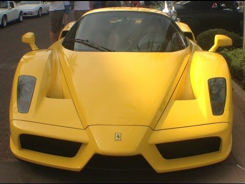 Ferrari Enzo, Super Car, at Cars and Coffee Scottsdale