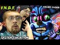 KILLER CLOWN JUMP SCARE in FIVE NIGHTS AT FREDDY'S 5 SISTER L...