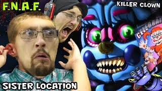 KILLER CLOWN JUMP SCARE in FIVE NIGHTS AT FREDDY