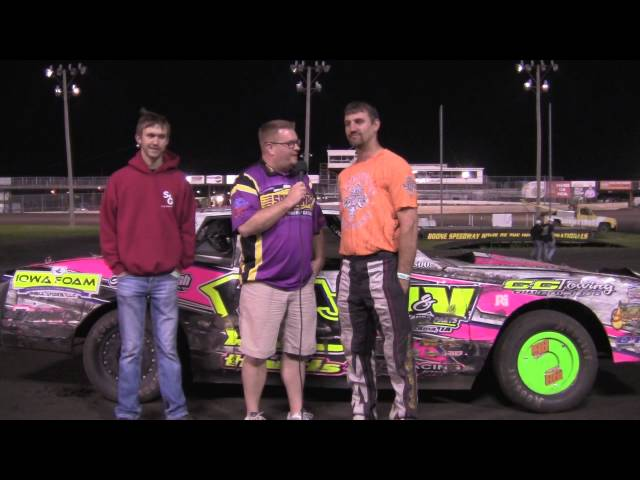 Jay Schmidt and Sam Wieben Stock and Sport Mod Feature winners 05/09/15