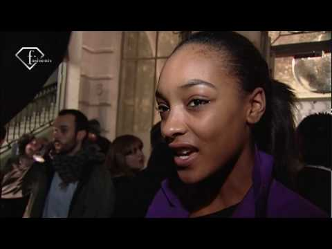 fashiontv | FTV.com - JOURDAN DUNN MODEL TALKS F/W 09-10