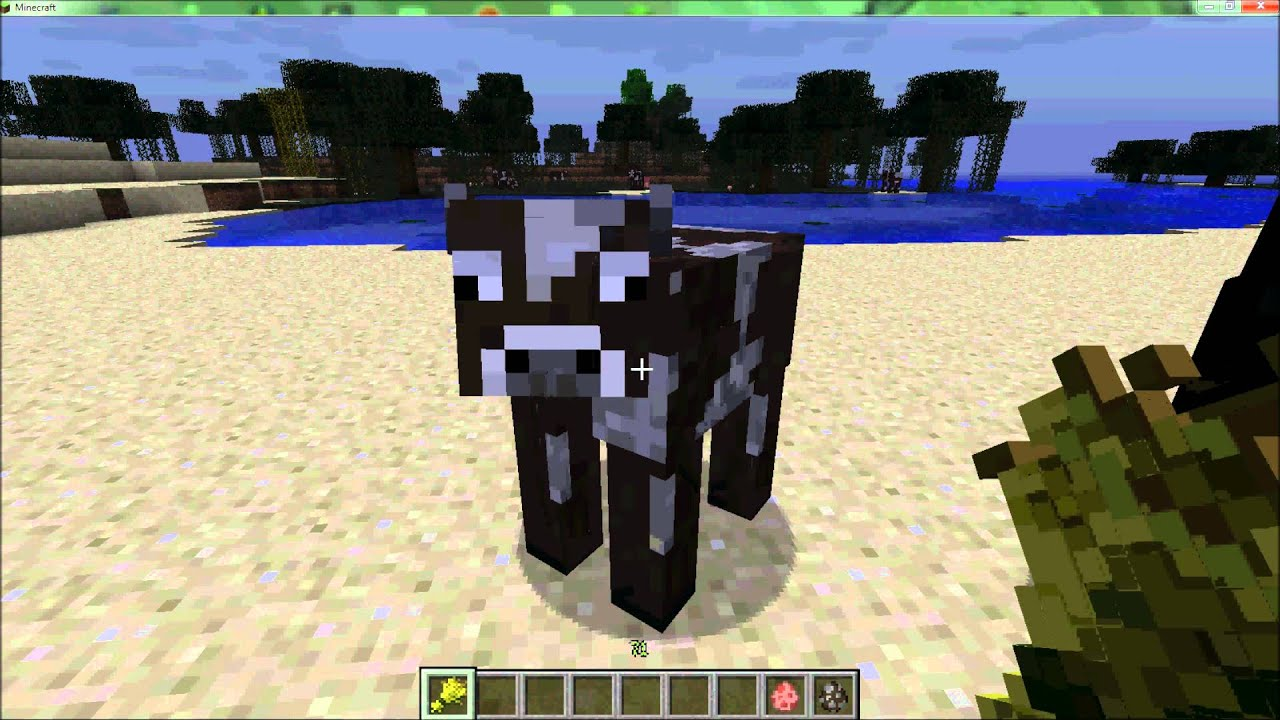 Tuto minecraft reproduction levage cochons et vaches youtube - Minecraft cochon ...