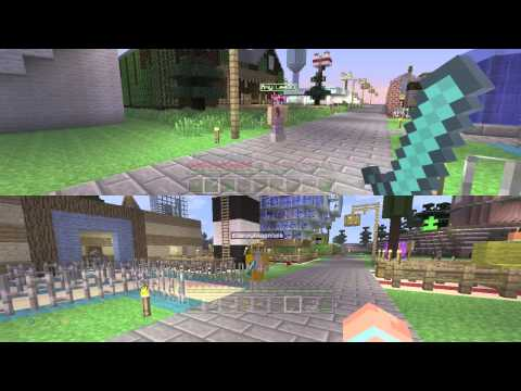 Minecraft Xbox - Amy Lee33's first video, with special guest Mr Stampy Longnose