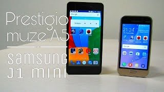 Prestigio Muse A5 PSP5502 Duo или Samsung Galaxy J 1 mini? Покупаем смартфон ребенку!