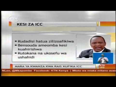Mahakama ya ICC yafutilia mbali tarehe iliyopangiwa kuanza kwa kesi dhidi ya Rais Uhuru Kenyatta