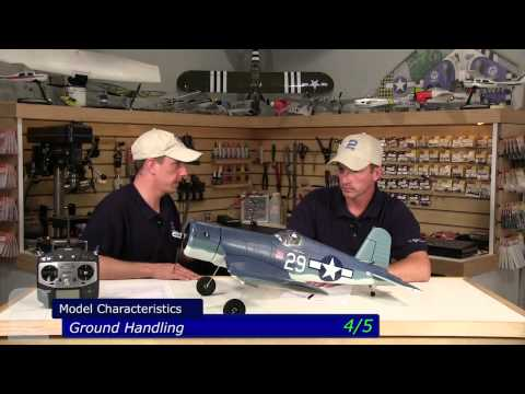 Tower Hobbies F4U Corsair Rx-R Review - Part 2. Scoring