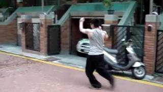 Tanglang bongbu 螳螂拳 崩步 Chinese martial arts kongfu
