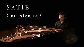 ERIK SATIE Gnossienne 3 - Alessio Nanni, piano