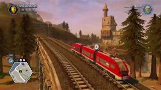 LEGO City Undercover (Nintendo Switch) - Driving the Train