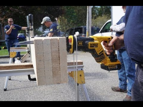 Cordless Reciprocating Saw Head 2 Head Testing