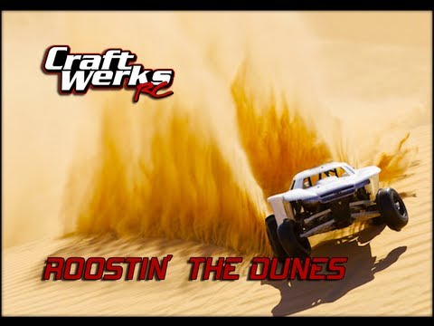 HPI Baja,GoPro,POV,CRASHING,& ROOSTING THE DUNES!!!