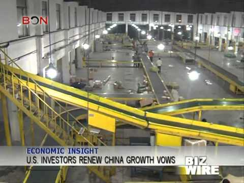 U.S. investors renew China growth vows - Biz Wire - May 26,2014 - BONTV China