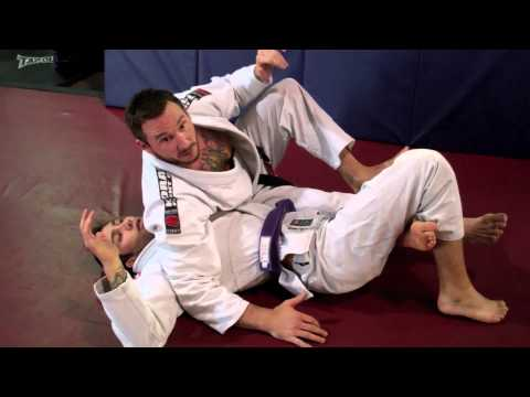 Jiu Jitsu Back Take from the Half Guard Image 1