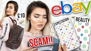 I BOUGHT FAKE DESIGNER ITEMS ON EBAY... I CAN39T BELIEVE WHAT I GOT!