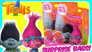 TROLLS BLIND BAGS!  Dreamworks TROLLS MOVIE Surprise Toys!  Fun Trolls Surprise Bags!