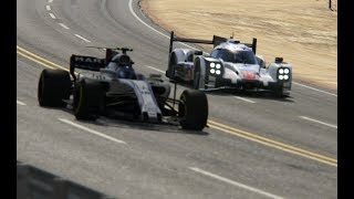 Battle F1 2017 Williams vs Porsche 919 Hybrid at Black Cat Country