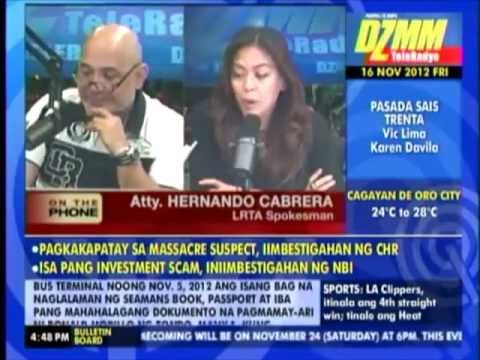 AMALAYER LMABASTED BY KAREN DAVILA- TV5 gives support
