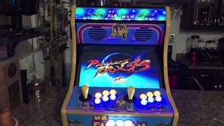 "19"" Ms Pac-Man Bartop Arcade, Pandora's Box"