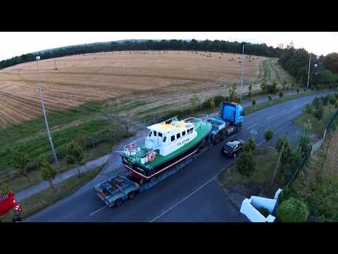 Pilot boat, Interceptor 38 for Setubal, launch day video