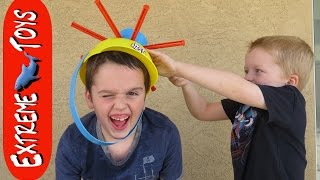 Fun With Wet Head and Ice Water! Extreme Toys TV Tries the Wet Head Game