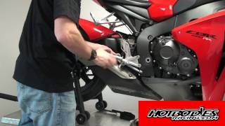 2008 CBR 1000RR Hotbodies Racing Megaphone Slip-On Installation Guide