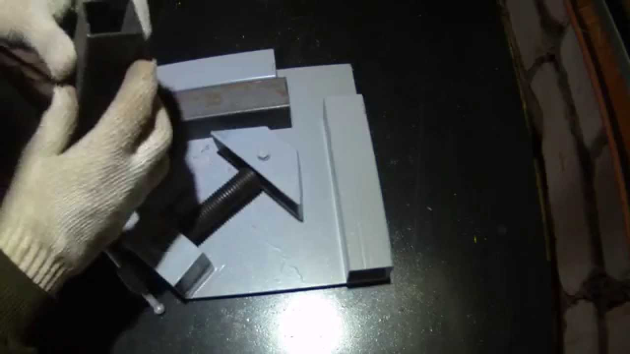 Как своими руками сделать угловую струбцину своими