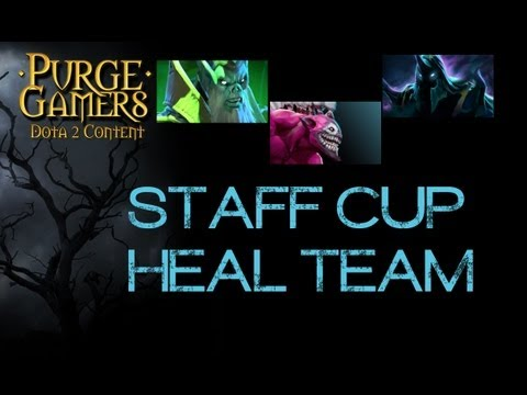 Dota 2 Team Heal Staff Cup w/ Tobiwan, Capitalist, Durka, b2ru