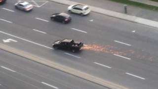 CRAZY POLICE CHASE IN MISSISSAUGA Part 1