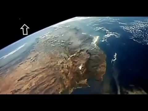 Estación espacial internacional capta ovnis en 2013