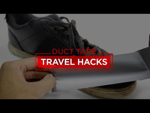 DUCT TAPE (TRAVEL HACK) | Tips In Video #47