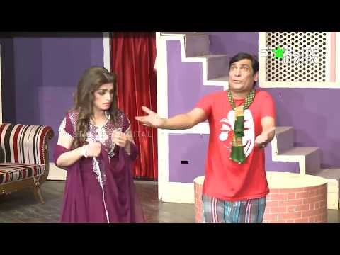 Shahid Khan and Raima Khan New Pakistani Stage Drama Full Comedy Funny Clip
