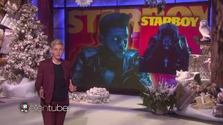 One of the best performance | 'The Weeknd'-Starboy-'The Ellen Show'