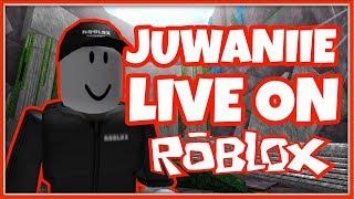 ROBLOX IN DA HOOD 🔴 (ROBLOX LIVE) @JUWANIIE