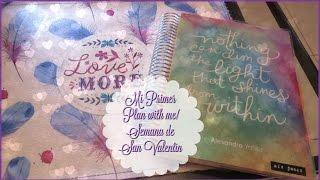 Plan With Me! San Valentin (erincondren Vertical) ♥ LM